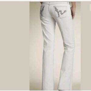 COH Valencia Kelly Bootcut Denim Jeans Lace Pocket